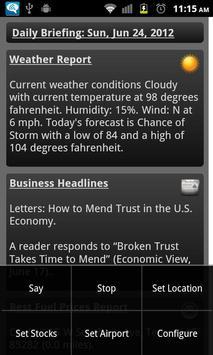 Daily Brief apk screenshot