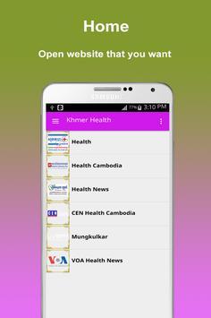 Khmer All Health poster