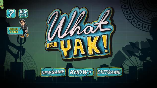 What da Yak poster