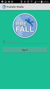 PreFalls-Mobile poster