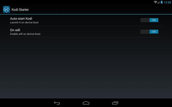 Kodi Starter screenshot 2