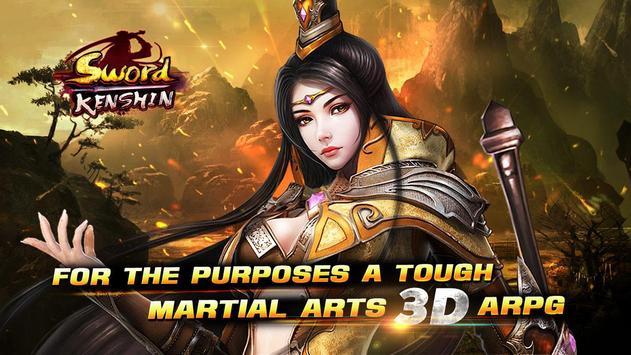 Sword Kenshin (CBT) poster