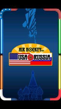 Air Hockey Pro: Russia vs USA poster