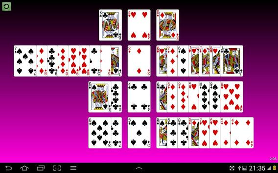 Castle Solitaire Cards screenshot 2