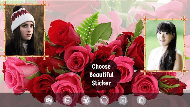 Flower Dual Photo Frame - Photo Editor apk screenshot