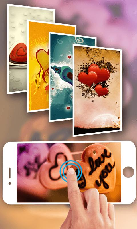 Romantic Wallpaper Hd 3d Love Heart For Android Apk Download