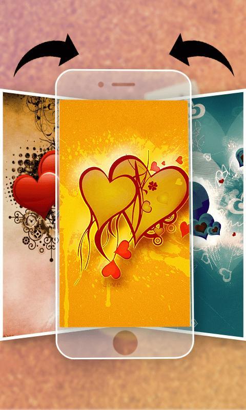 Romantic Wallpaper Hd 3d Love Heart Pour Android Telechargez L Apk