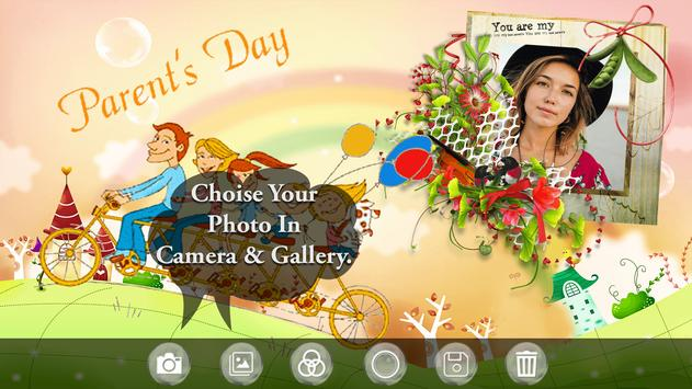 Parents Day Photo Frame 2018 - Happy Parent's Day screenshot 1