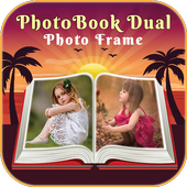 HD PhotoBook Dual Photo Frame icon