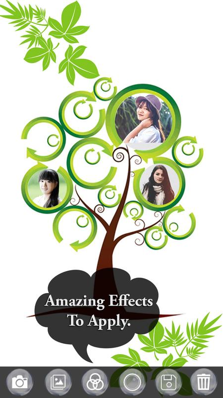 Tree Collage Photo Frame - 3D Tree Photo Editor for Android - APK ...