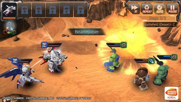 SD Gundam Battle Station TH screenshot 1