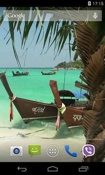 Thai boat Video Live Wallpaper screenshot 2