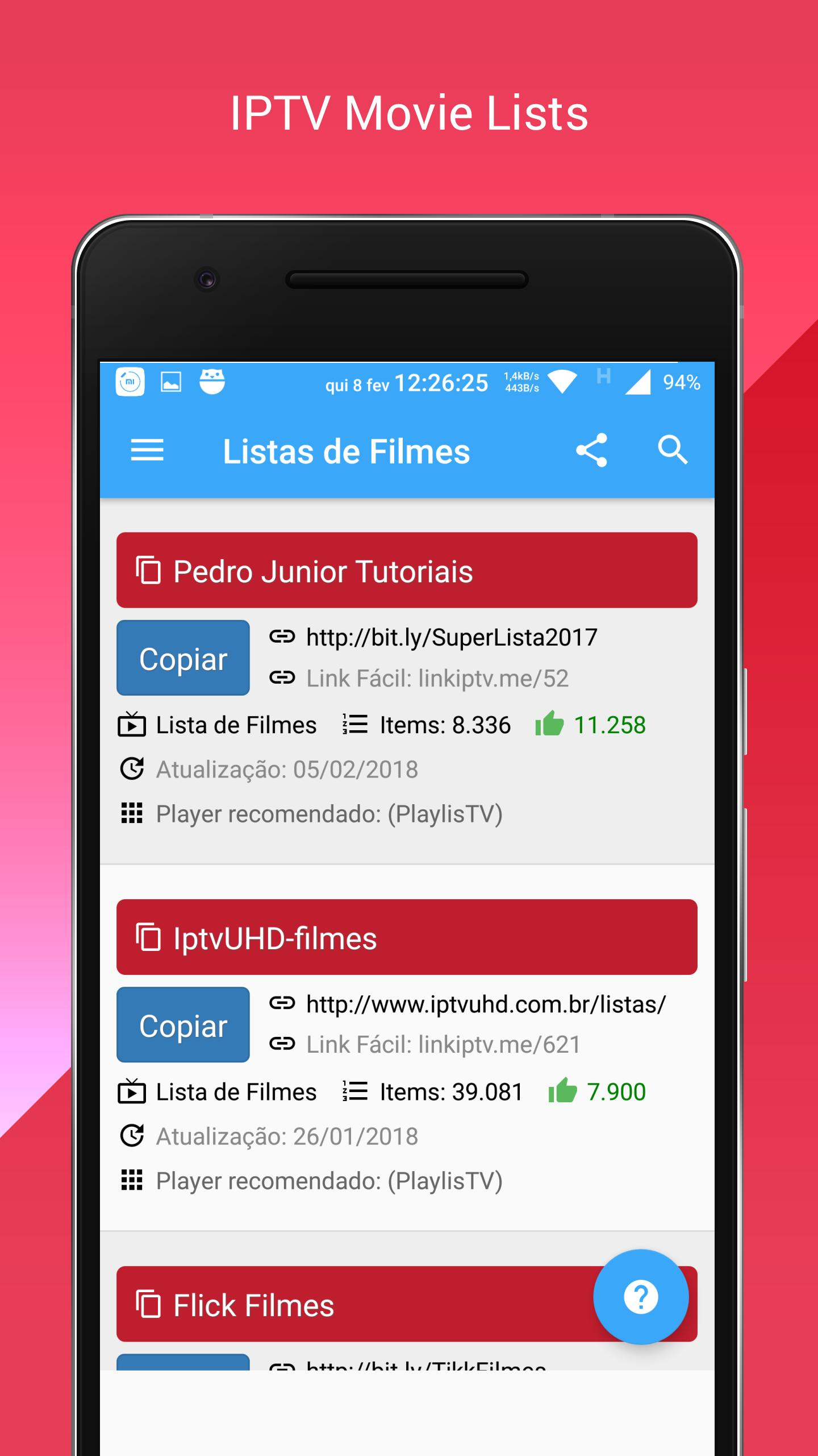 Free IPTV Lists for Android - APK Download