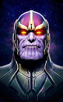 Thanos Infinity Wallpaper poster