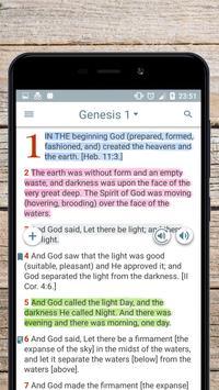 The Amplified Bible, audio free version apk screenshot