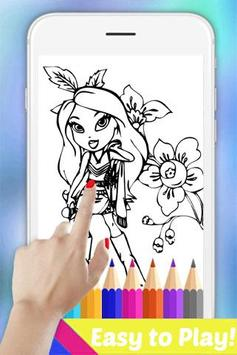The Book Coloring Pages for Bratez by Fans poster