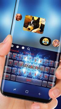 The cranberries Keyboard Theme screenshot 2