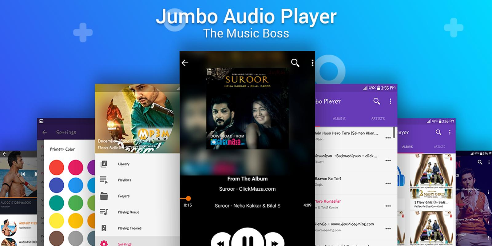 Best Audio Player-Free HD Music Player for android cho