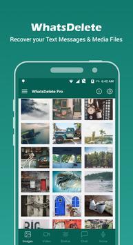 WhatsDelete Pro تصوير الشاشة 1