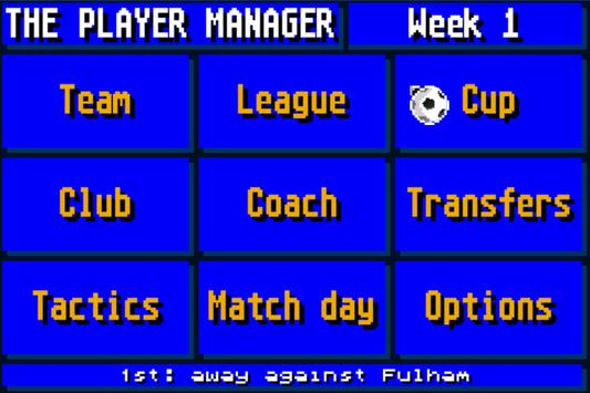 The Soccer Player Manager poster
