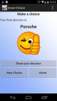 Smart Choice apk screenshot