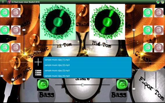 DJ Real music mixer Studio5 2018 screenshot 3
