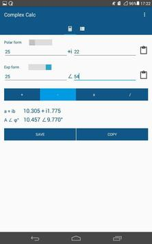 Complex Calc apk screenshot