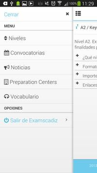 Examscadiz apk screenshot