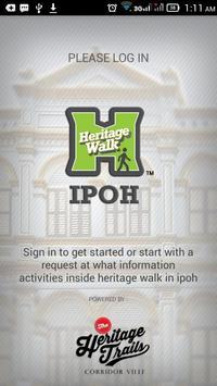 Heritage Walk Ipoh poster