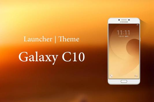 Theme for Samsung Galaxy C10 Wallpaper poster