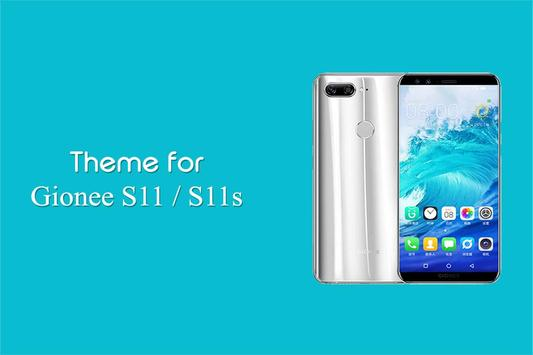 Theme for Gionee S11s - S11 poster