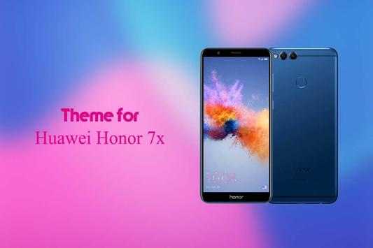 Theme for Huawei Honor 7x poster
