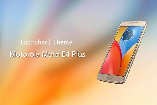 Theme for Motorola Moto E4 Plus poster