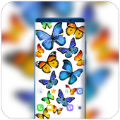 Colorful Butterfly Theme for Nokia X6 wallpaper icon