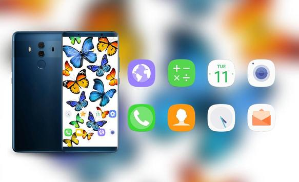 Colorful Butterfly Theme for Nokia X6 wallpaper screenshot 3
