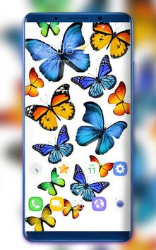 Colorful Butterfly Theme for Nokia X6 wallpaper poster