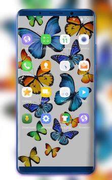 Colorful Butterfly Theme for Nokia X6 wallpaper screenshot 1