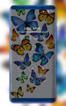 Colorful Butterfly Theme for Nokia X6 wallpaper screenshot 2