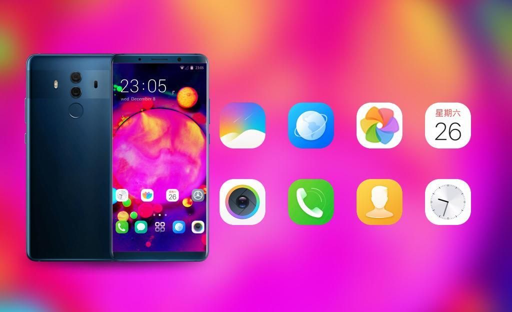 Colorful Bright Theme Wallpaper For Pink Neon For Android