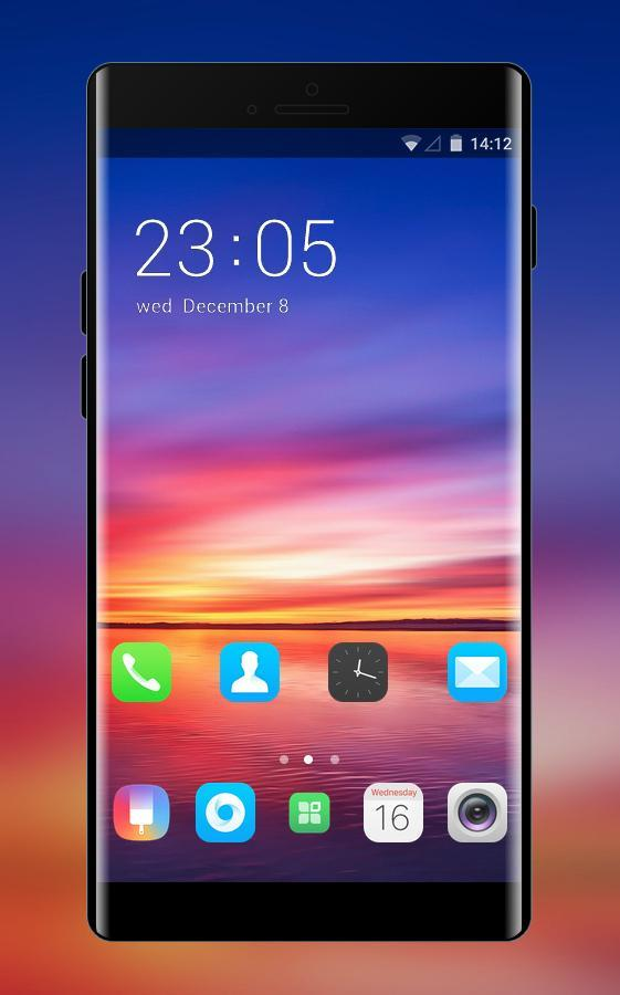 theme for simple colorful brilliant space oppo for Android