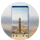 Theme for tower build desert MI Band 3 wallpaper icon