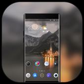 Theme for OPPO realme 2 Landscape night building icon