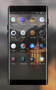 Theme for OPPO realme 2 Landscape night building screenshot 1