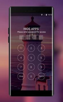 Theme for lighthouse near sea wallpaper screenshot 2