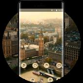 Landscape theme london tower city wallpaper icon