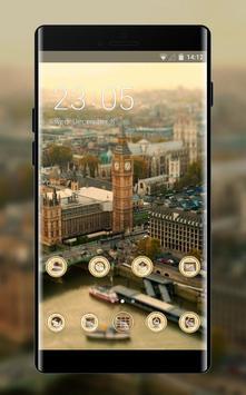 Landscape theme london tower city wallpaper poster