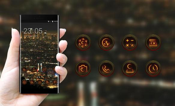 Night view theme los angeles city wallpaper screenshot 3