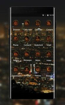 Night view theme los angeles city wallpaper screenshot 1
