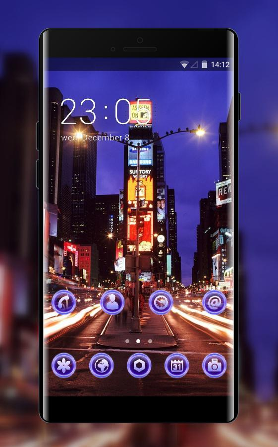 Landscape Theme Wallpaper New York Times Square For Android