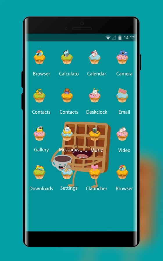 Sweet Cartoon ColorOS Launcher Theme for Oppo for Android